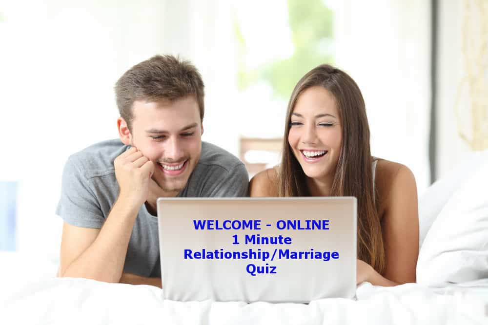 1 minute relationship marriage quiz