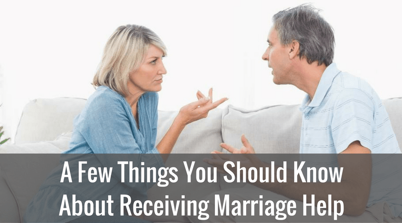 A Few Things You Should Know About Receiving Marriage Help